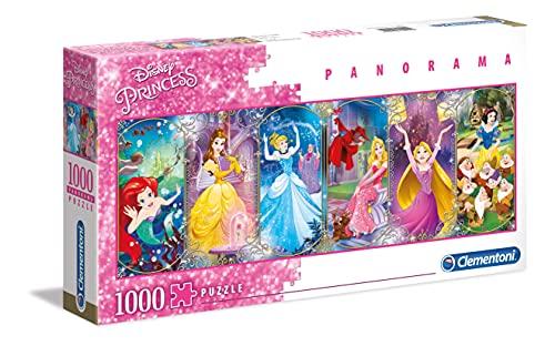 Clementoni Disney Puzzle 1000 Piezas Panorama Princess, Color (39444.9)