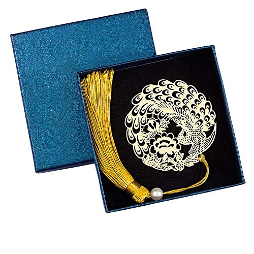 Alunni segnalibro in metallo ottone squisito creativo vuoto retrò con simpatico regalo regalo di laurea antico regalo-1