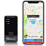 MOTOsafety Mini Portable Real Time Location Personal GPS Tracker to put in a backpack, luggage, purse, tool boxes for adults, teens, elderly