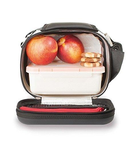 Valira Nomad Satin Lunch Bag, Mini, Black by Valira