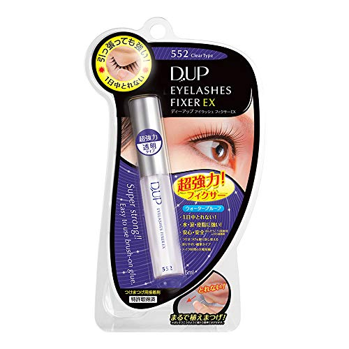 DUP Eyelash Fixer EX 552 Clear Type, 1 Ounce
