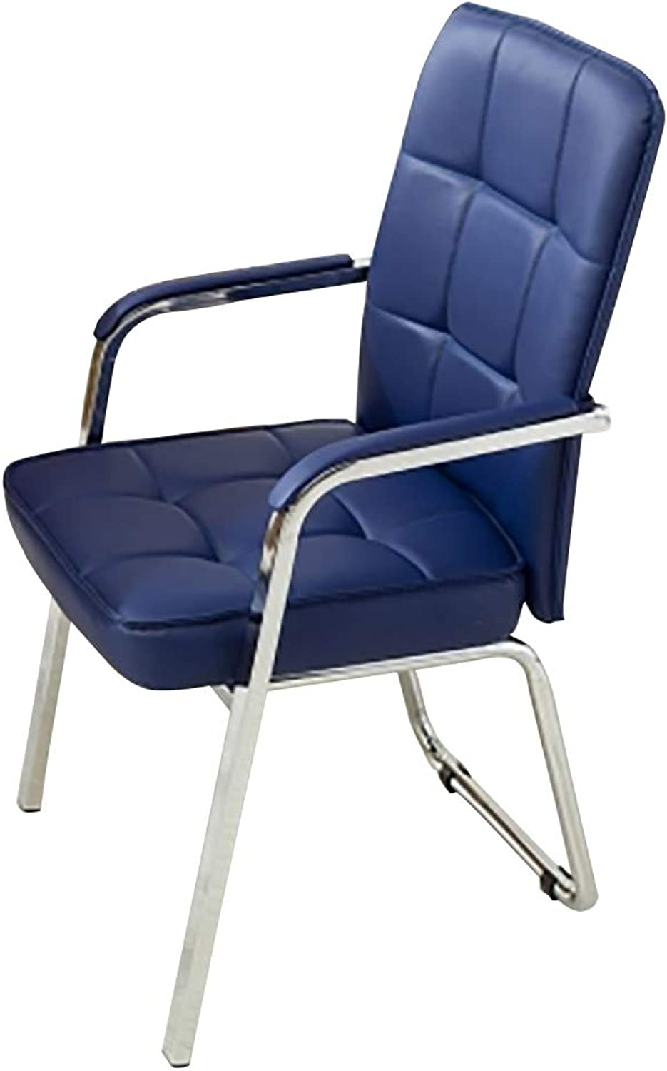 Computer Chair Home Office Chair Backrest Bow Lazy Chair Staff Meeting Room Chair (color   E)