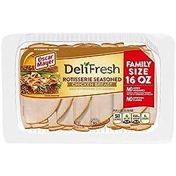 Oscar Mayer Deli Fresh Rotisserie Seasoned Chicken Breast Lunch Meat (16 oz Package)