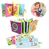Coolplay My First Soft Cloth Book Early Learning Development Toy for Babies
