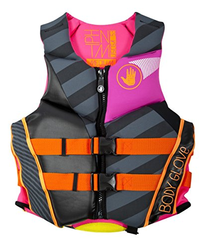 Big Save! Body Glove Wetsuit Co Women's Phantom Neoprene US Coast Guard Approved PFD Life Jacket, Bl...