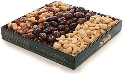 Western Nut Company Forest Gold Gift Box Nut Lover s Deluxe Mix Pack 2 lbs 4 oz product image
