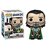 Fcunokacetr Funko pop Marvel Vengadores alrededor Rocky Loki modelo de juguete de edición limitada luminosa hecha a mano