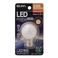 (業務用セット) ELPA LED装飾電球 ミニボール球形 E17 G30 電球色 LDG1L-G-E17-G241 【×10セット】 家電 電球 その他の電球 top1-ds-1485078-ak [簡易パッケージ品]