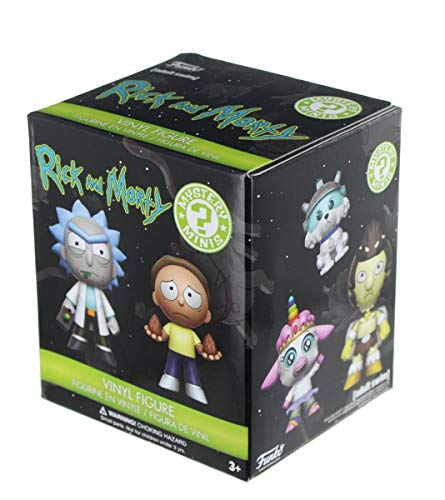 Rick and Morty Funko Blind Packaging Minis, 1 Random