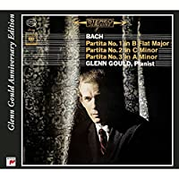 Partitas 1 2 & 3 - Anniversary Edition by Glenn Gould (2002-09-03)