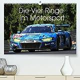 Die Vier Ringe im Motorsport (Premium, hochwertiger DIN A2 Wandkalender 2022, Kunstdruck in Hochglanz): Die Faszination der Vier Ringe - Audi Motorsport Fotos (Monatskalender, 14 Seiten )