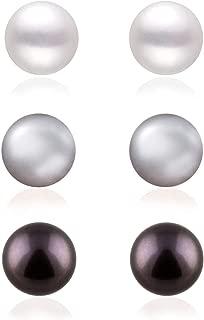 Best black freshwater pearl earrings Reviews