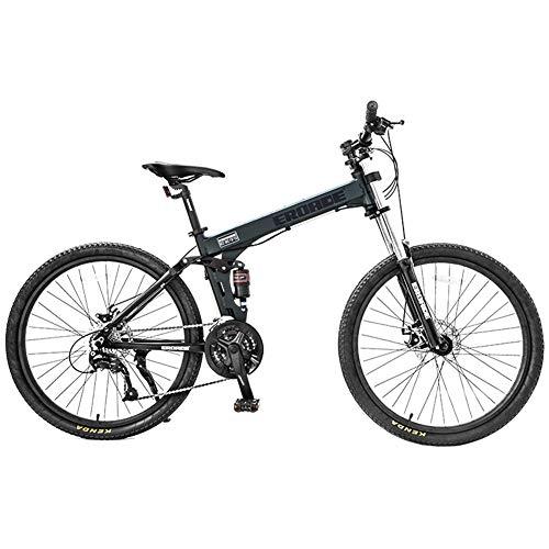 Nengge Mountainbike, 26 inch, 27 versnellingen, licht, met vering, voor volwassenen en kinderen