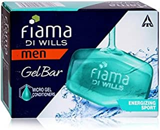 Fiama Di Wills Energizing Sport Men Gel Bar - 125 G (Pack Of 4)