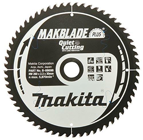 Makita Makblade+ Saegeblatt, 260 x 30 mm, 60Z, B-32524 - 2