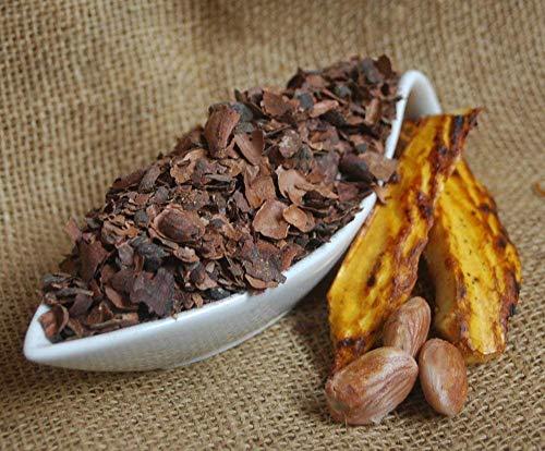 Krauterino24 - Kakaoschalen geschnitten Kakaoschalentee (500g)