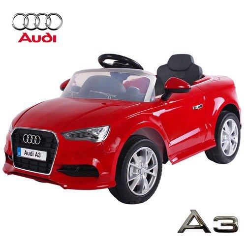 Babycar 99852r - Auto Elettrica per Bambini Audi A3 con Telecomando, 12 Volt, Rosso