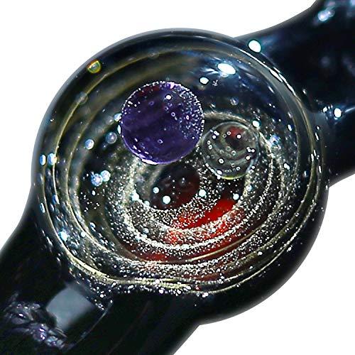 Pavaruni - Original Galaxie-Schmuck - Aurora Kosmos-Design - japanische Kunst - von Kunsthandwerkern gefertigt - Geschenkidee (Neptun(Armbänder))