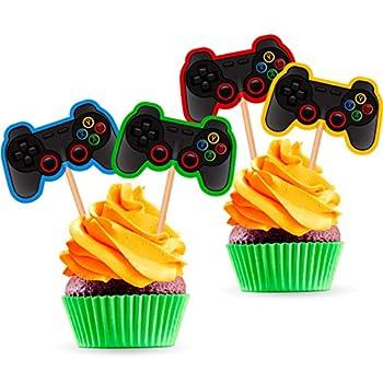 video game cupcake