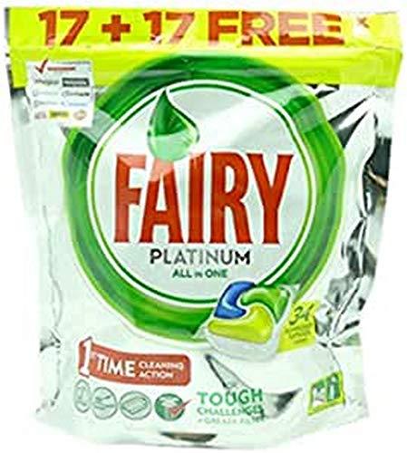 Fairy Zitronen Platin Alles-In-Einem 16+16