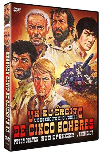 Un Ejército de Cinco Hombres (Un esercito di 5 uomini) 1969 [DVD]