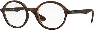 Rx7075 Round Prescription Eyeglass Frames