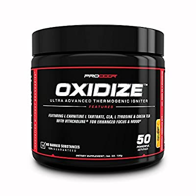 Oxidize - *Clearance Deal* Extreme Thermogenic & Mood Enhancement Natural Fat Burner Powder - 50 Day Supply