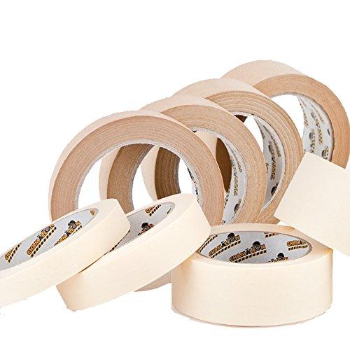 Chamäleon 25mm x 45m ABDECKBAND Masking Tape 80° Lackierer Maler Klebeband MALERKREPP LACKIERBAND