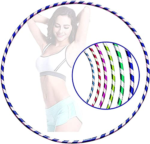 Ease-n-Comfort Hula Hoop - Pack of 1 XL (Adults) Lightweight PVC Tube Hoola Hoops Ring Weight Loss - Ideal for Men & Women - Dancing, Workout, Gymnastics, Gym Exercise Equipment & Fitness