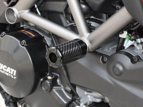 roulettes de Protection Carbone pour Ducati Monster 796 10-14