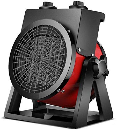 COOYT Calentador de Espacios, Pesado Industrial Calentador eléctrico con Ayuda de un Ventilador, Peso Ligero Aire más Caliente portátil con termostato a Prueba de Agua for el Almacén Garaje Taller