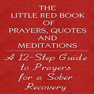 The Little Red Book of Prayers, Quotes and Meditations cover art