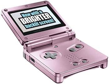 Game Boy Advance SP Pearl Pink  Renewed