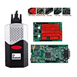 ASDFGHJKL Lector De Códigos De Automóviles Herramienta De Escaneo OBDII/Escáner OBD2 Relés Bluetooth/+ Bluetooth USB Escáner OBD2 Automóviles Camiones Herramienta De Diagnóstico OBDII