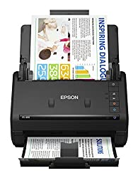 top rated Epson WorkForce ES-400 Color Double-sided Document Scanner for PC and Mac, Automatic Document Feeder (ADF) 2021