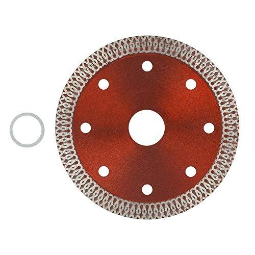 Hoja de sierra, Rueda de corte de diamante, Hoja de sierra de diamante Rueda de disco de corte circular Herramientas de corte para baldosas de cerámica(105 mm)