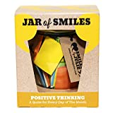 quotes in a jar - Smiles by Julie - Positive Thinking Quotations in a Jar. an Inspirational, Motivational Quote for Every Day of The Month. Keep on Track of Your Challenges and Goals. Comes in its own Gift Box.