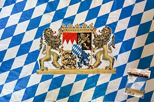 PG Intertrade Bayern-Fahne mit Sehr guter Qualität, Wetterfeste Fahne 90cm x 150cm