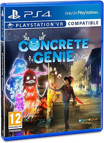 Concrete Genie (PSVR Compatible) PS4 [