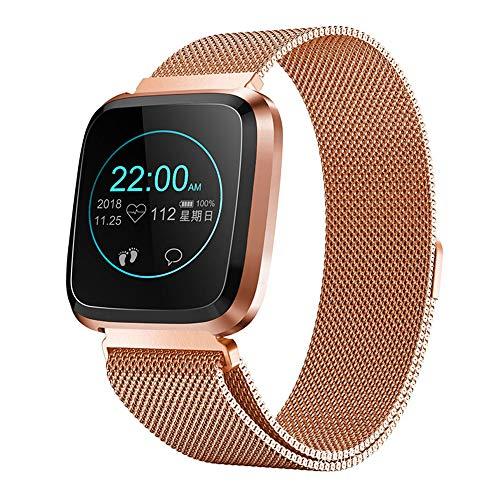 RanGuo, Smart Watch per uomini, donne e bambini, per sport all'aperto, impermeabile, Bluetooth, per smartphone con sistema Android e iOS, supporta promemoria di chiamata e messaggi