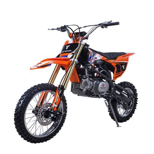 X-PRO 140cc Adults Dirt Bike Pit Bike Youth Dirt Pitbike 140 Dirt Pit Bike (Black)