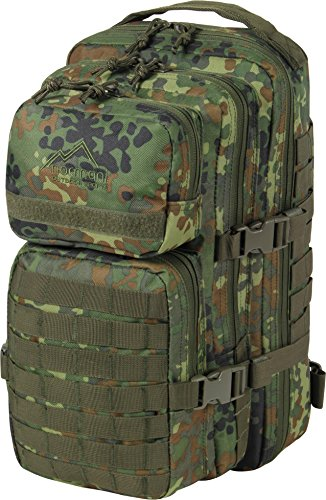 normani US-Rucksack Assault I - Praktischer Rucksack der US Farbe Flecktarn