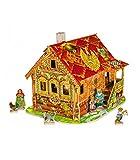 CLEVER PAPER- Puzzles 3D Mi Primera casa de muñecas II (142062)