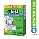 Affresh Washer Machine Cleaner, Whiite , 6-Tablets, 8.4 oz - W10501250