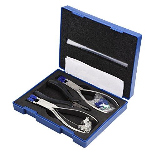 Heaveant Alicates para Gafas, Juego de alicates para Gafas Profesionales, Juego de Herramientas ópticas para Marcos de Gafas de desmontaje sin Montura