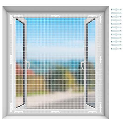 EXTSUD Moustiquaire pour Fenêtres Magnétique Découpable Ride