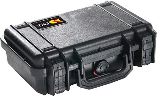 Peli 1170 Valigia protettiva per fotocamera Mirrorless, IP67 Impermeabile e a prova di polvere, Capacità di 3L, Prodotto in USA, Senza schiuma, Colore Nero