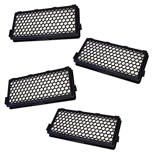KingBra - Filtro HEPA de repuesto compatible con Miele SF-AH50 AH50 05996882 (4 unidades)