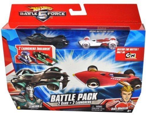 hot wheels battle force 5 cars - 5
