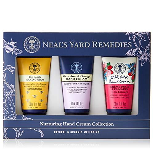 Neal's Yard Remedies Pflegende Handcreme-Kollektion.